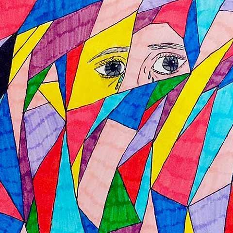 Kustkonst Emma Bolter illustrationer Missionshuset Axmarby