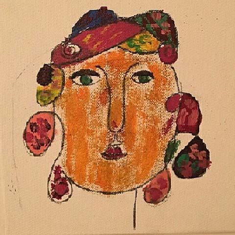 Kustkonst Sophie Axlund måleri Skolan Axmarby